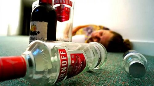 алкогольна інтоксикація наслідки