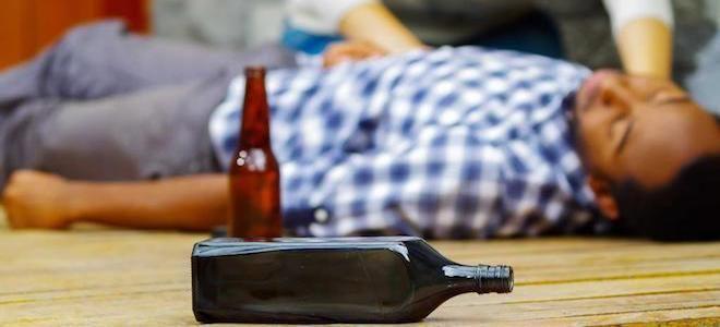 интоксикация алкоголем лечение